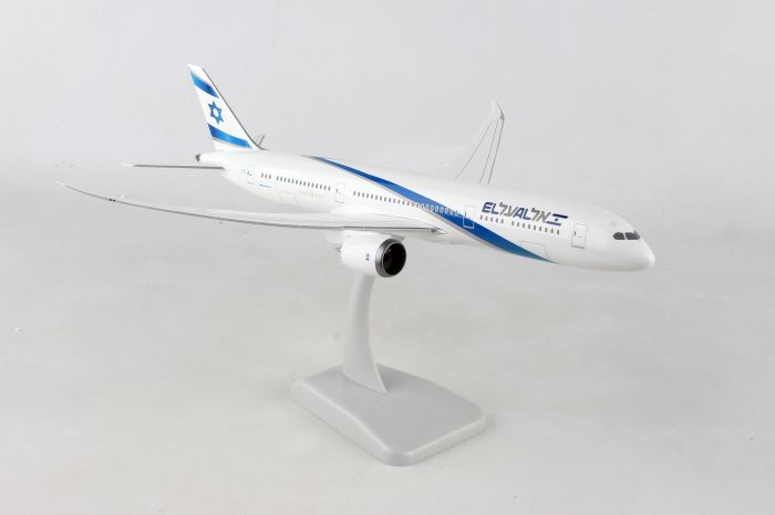 El Al B787-9 (1:200) by Hogan Wings Collectible Airliner Models item number: HG11236G