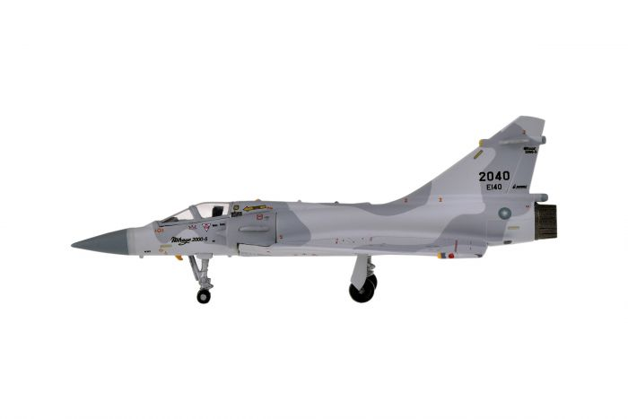 Mirage 2000 ROCAF Republic of China Air Force (1:200) 2040 Tail by Hogan Wings Military Airplane Models item number: HG60555