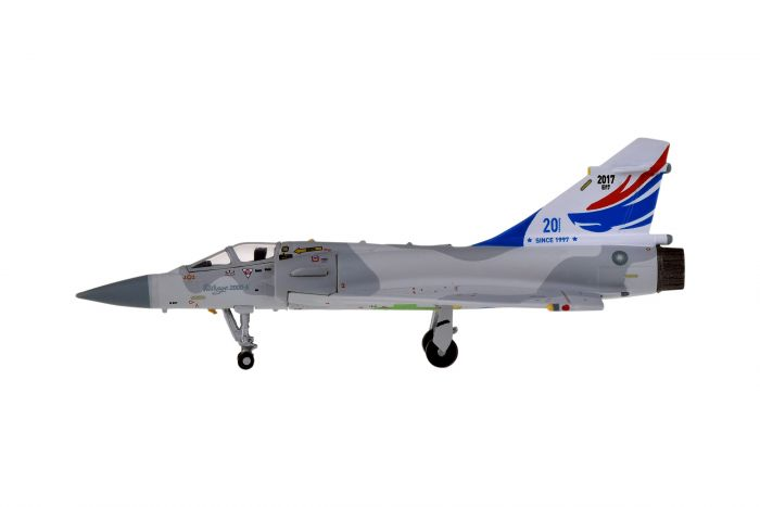 Mirage 2000 ROCAF Republic of China Air Force (1:200) 20TH Anniversary Tail by Hogan Wings Military Airplane Models item number: HG60562