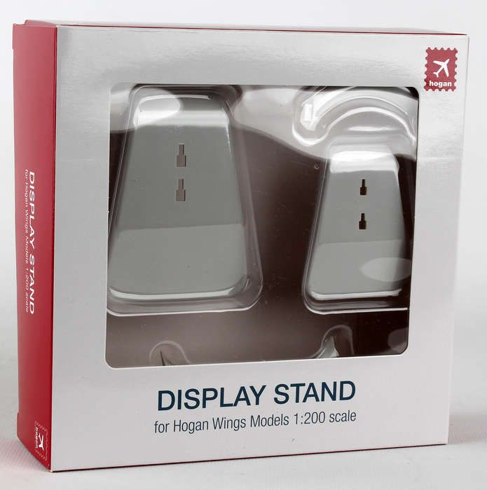 1 Medium and 1 Small Replacement Stand (1:200) by Hogan Wings Collectible Airliner Models item number: HG90057