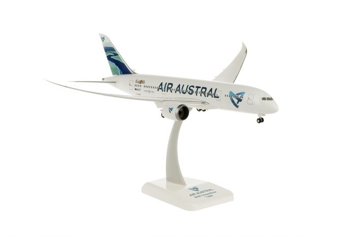 "Air Austral 787-8 ""River Tail"" F-OLRC (1:200) by Hogan Wings Collectible Airliner Models item number: HGAA03"