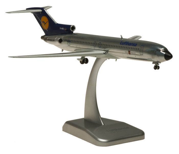 Lufthansa 727-200 (1:200) Retro Livery D-ABCI by Hogan Wings Collectible Airliner Models item number: HGLH29
