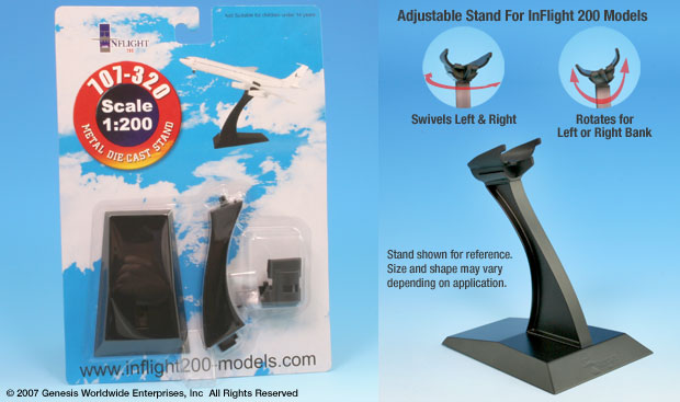 Boeing 707 Display stand (1:200)