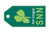 Aer Lingus SNN Bag Tag TAG801, ACI Aviation Jewelry and Bag Tags Item Number TAG801
