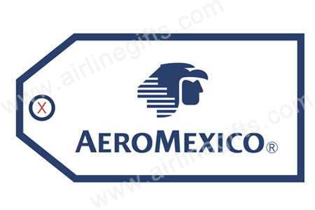 Aeromexico Bag Tag TAG004, ACI Aviation Jewelry and Bag Tags Item Number TAG004
