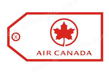 Air Canada Bag Tag TAG008, ACI Aviation Jewelry and Bag Tags Item Number TAG008