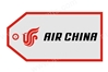 Air China Bag Tag TAG510, ACI Aviation Jewelry and Bag Tags Item Number TAG510