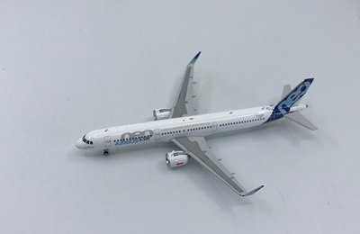 Airbus A321neo D-AVXB House Colors (1:400), Phoenix 1:400 Scale Diecast Aircraft, Item Number PH4AIR1640
