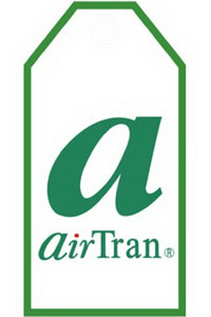 Airtran Bag Tag, ACI Aviation Jewelry and Bag Tags Item Number TAG019