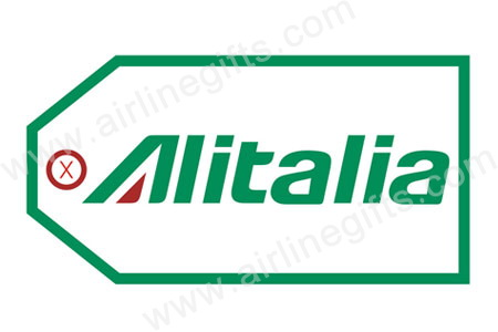 Alitalia Bag TagTAG021, ACI Aviation Jewelry and Bag Tags Item Number TAG021