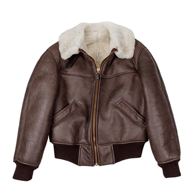 B-26 Winter Weight Sheepskin Jacket, Cockpit/Avirex Leather Jackets Item Number Z2126