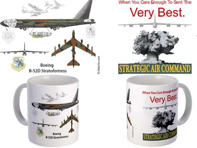 "B-52 MUG - ""When you care enough to send the very best mug"""