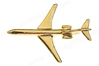 Boeing 727 (Gold) PIN727, ACI Aviation Jewelry and Bag Tags Item Number PIN727