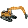 Case CE Excavator - Metal Construction Kit (1:25)