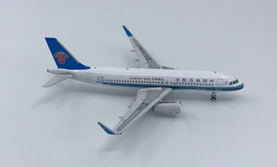 China Southern A320 Sharklets B-1801 ((1:400)), Phoenix (1:400) Scale Diecast Aircraft, Item Number PH4CSN1300