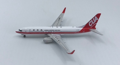 China United Airlines B737-800 Winglets B-5665 (1:400), Phoenix 1:400 Scale Diecast Aircraft, Item Number PH4CUA1274