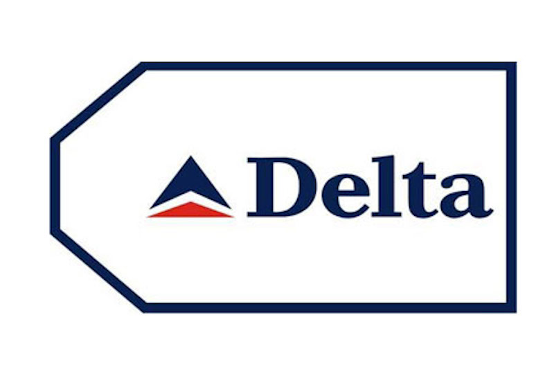 Delta Airlines Bag Tag by Airline Gifts by Aviation Collectables Intl SKU TAG060