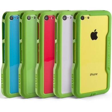 Element Case Prisma iPhone 5C Case, Green, Element Item Number ELM-AP5C-1011-GG00