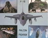 F-16 Falcon Poster ( 16 x 20 ), Daron Toys Item Number IM6857