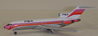 Jet-X PSA  set of two B 727-173 & B 727-214 1:400