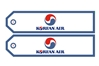 Korean Airlines1, ACI Aviation Jewelry and Bagtem Number RBF621