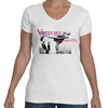 Louise Thaden V Neck T-Shirt, Women Fly Item Number TS-WFVICTORY