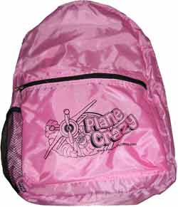 Powder Puff Pilot Backpack for Girls, Powder Puff Pilots Item Number BPPPC