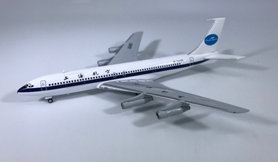 "Shanghai Airlines B707-300C ""Old Livery"" B-2425 (1:400) by JC Wings Diecast Airliners"