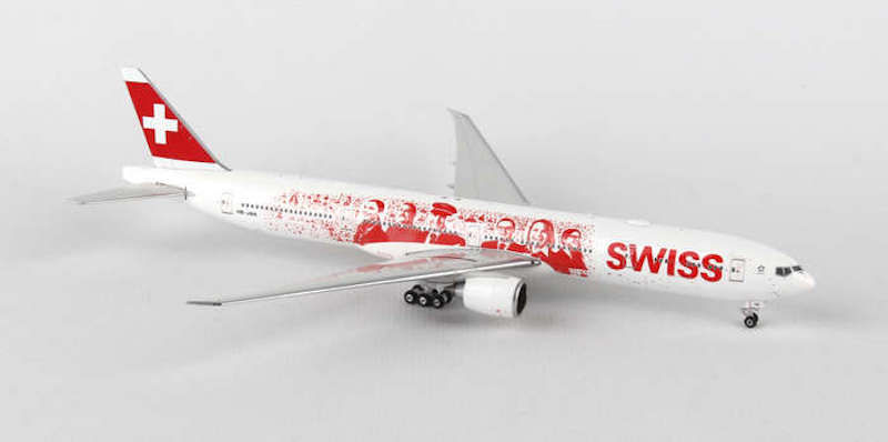 "Swiss B777-300ER ""Heads of Swiss"" HB-JNA (1:200)"