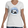 The Stinson Sisters V-Neck T-Shirt, Women Fly Item Number TS-WFSTINSON
