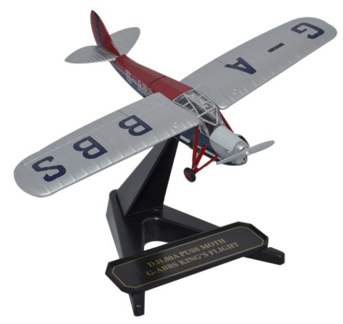 de Havilland DH.80 Puss Moth - Kings Flight, G-ABBS (1:72)