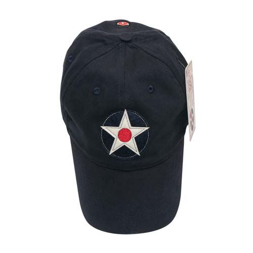United States Cap - Navy, Red Canoe Aviation Gifts Item Number U-CAP-USAR-01-NY