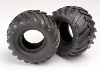 STAMPEDE REPLACEMENT TIRES (2), Traxxas Radio Control Item Number TRX3670