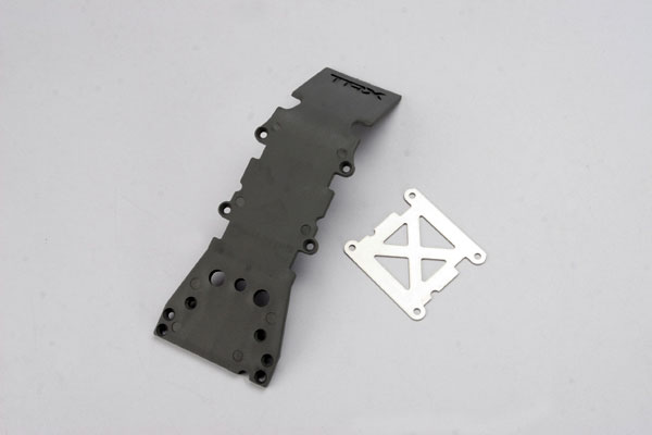 Skid Plate Front Plastic Gray T-Maxx, Traxxas Radio Control Item Number TRX4937A