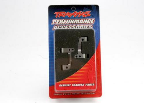 Caster Blocks 25-Degree Titanium-Anodized 6061-T6 Aluminum (Left & Right), Traxxas Radio Control Item Number TRX5536X