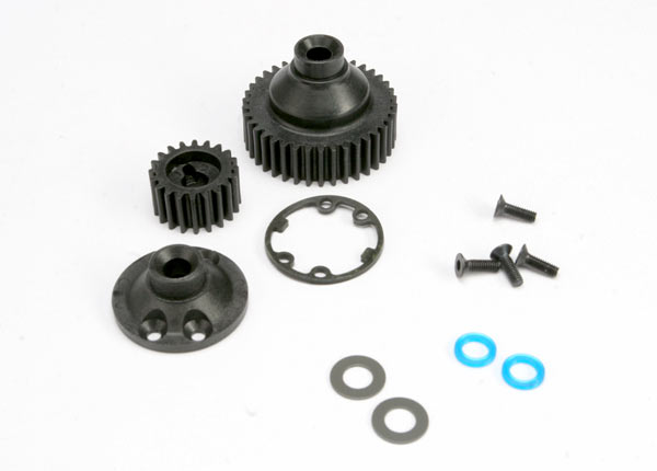 Differential Gear/Cover/Gasket/Output Gear Jato, Traxxas Radio Control Item Number TRX5579