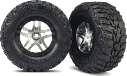 6870 Tire/5876 Wheel Mounted Slash 2WD Front (2), Traxxas Radio Control Item Number TRX5882