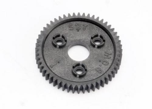 Spur Gear, 52-Tooth (0.8 Metric Pitch, Compatible With 32-Pitch)