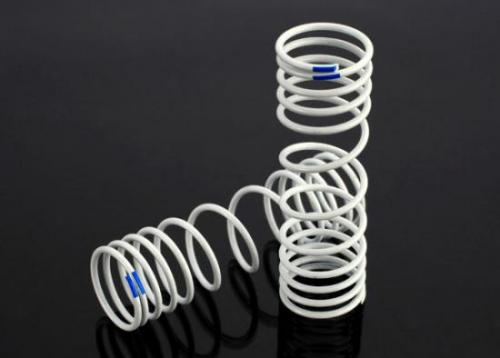 Springs, Rear (Progressive, +20% Rate, Blue) (2), Traxxas Radio Control Item Number TRX6868