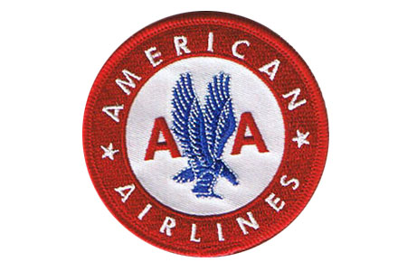 American Airlines Retro Patch (Iron On), ACI Aviation Jewelry and Bagtem Number