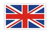Union Jack Patch (Iron On Applique), ACI Aviation Jewelry and Bag Tags Item Number APP006