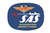 SAS Retro Patch (Iron On Applique), ACI Aviation Jewelry and Bag Tags Item Number APP019
