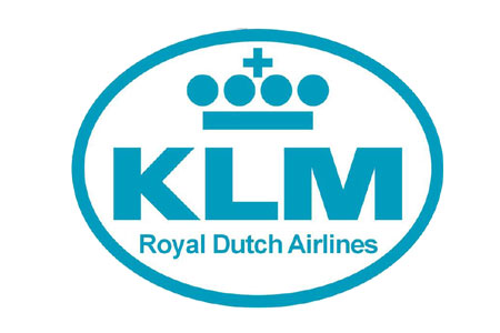 KLM Patch (Iron On Applique)