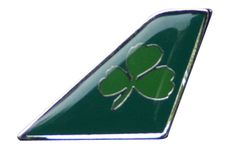 Aer Lingus Lapel Pin / Tie Tack, ACI Aviation Jewelry and Bag Tags Item Number PIN001