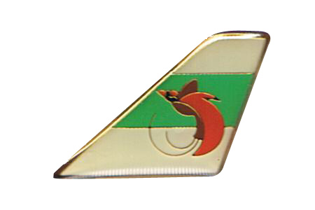 Air Niugini Lapel/Tie Tack, ACI Aviation Jewelry and Bagtem Number