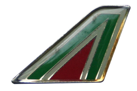 Alitalia Lapel/Tie Tack, ACI Aviation Jewelry and Bagtem Number