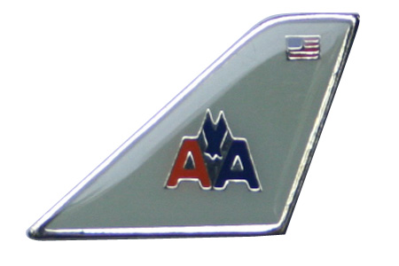 American Airlines Lapel/Tie Tack, ACI Aviation Jewelry and Bagtem Number