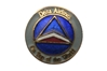 Delta Logo Round Pin, ACI Aviation Jewelry and Bag Tags Item Number PIN405