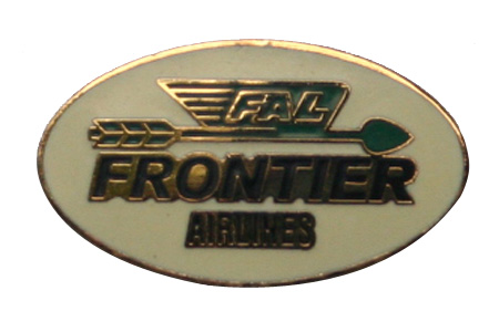 Frontier Logo Lapel Pin / Tie Tack, ACI Aviation Jewelry and Bag Tags Item Number PIN406