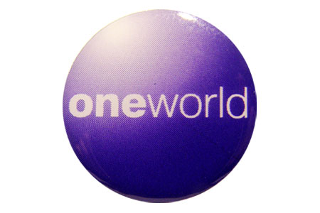 Oneworld Lapel Pin / Tie Tack, ACI Aviation Jewelry and Bag Tags Item Number PIN410